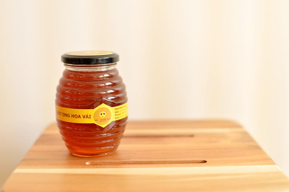 Mật ong hoa vải - Hũ 350ml