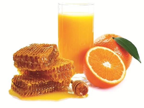 Làm đẹp với sữa cam và mật ong