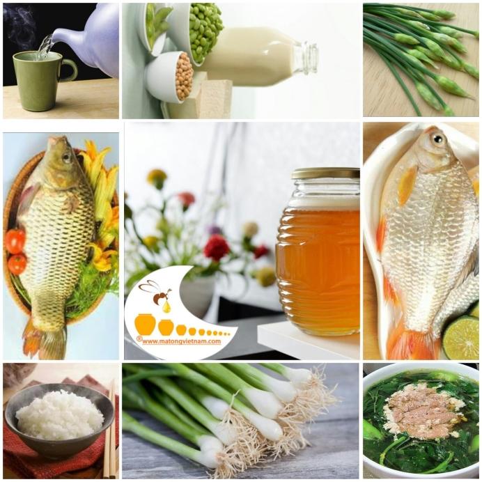 9 thực phẩm tuyệt đối không ăn chung với mật ong