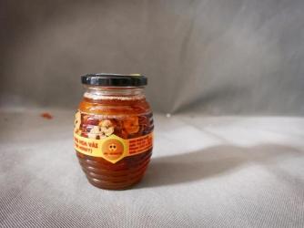 Táo đỏ ngâm mật ong hoa vải 350ml